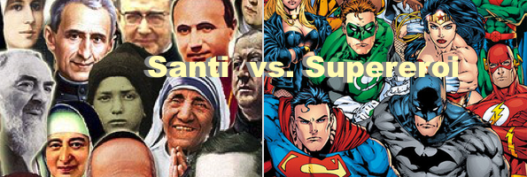 Santi Vs. Supereroi