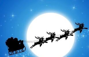 Babbo Natale a Villadose 22-12-2018